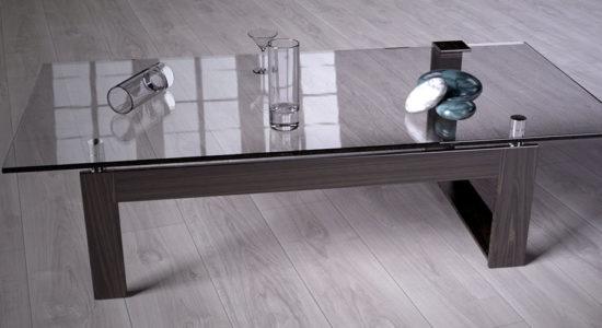 Выбор стеклянного стола для кухни